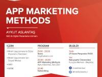 """Mobil İstanbul Kasım – """"App Marketing Methods"""" Etkinliği"""