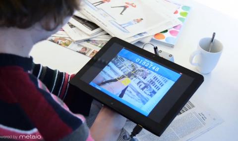 Dokunduğunuz Her Yeri Etkileşimli Ekrana Çeviren Arayüz: Thermal Touch